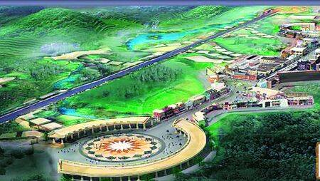 Noida film city, largest film city noida, noida film city land, noida film city construction, Yamuna Expressway, noida news