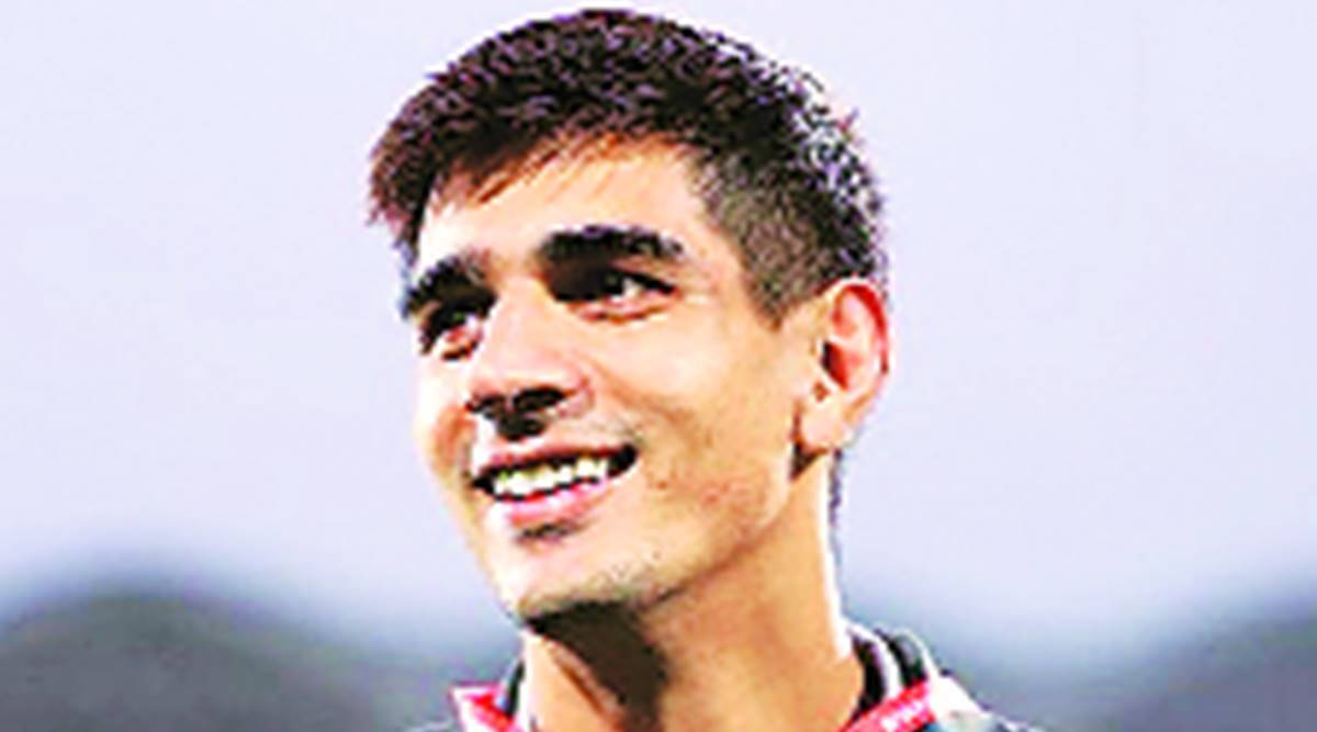 football player of the year, AIFF, Football Federation, Gurpreet Singh Sandhu, Chandigarh player, Punjab news, Indian express news