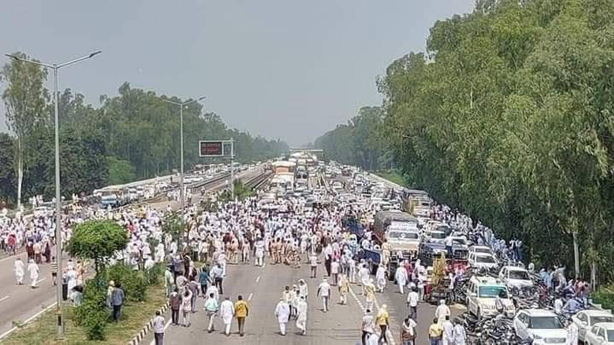 Haryana farmers protest, farmers protest Haryana, Haryana protests, farmers protests, India news, Indian Express