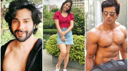 Hina Khan, Varun Dhawan, Sonu Sood, Celebrity photos of the day