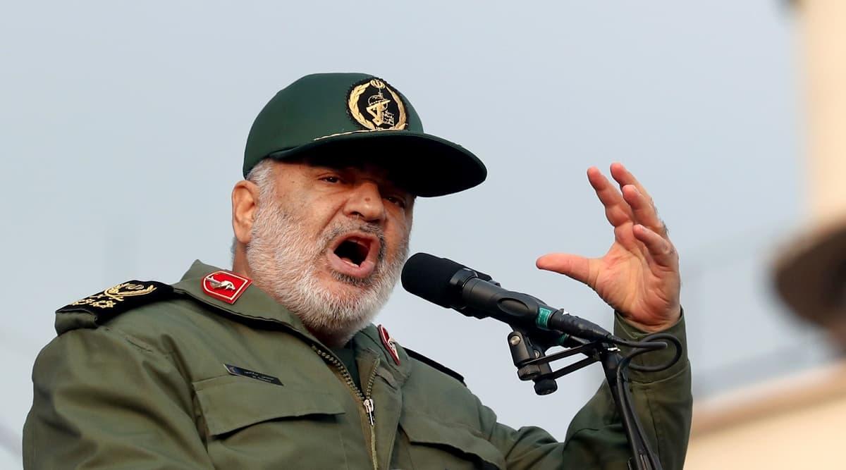 General Hossein Salami, Iran Paramilitary Revolutionary Guard Chief,