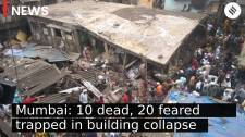 Thane: 10 dead, 20 feared trapped in Bhiwandi building collapse