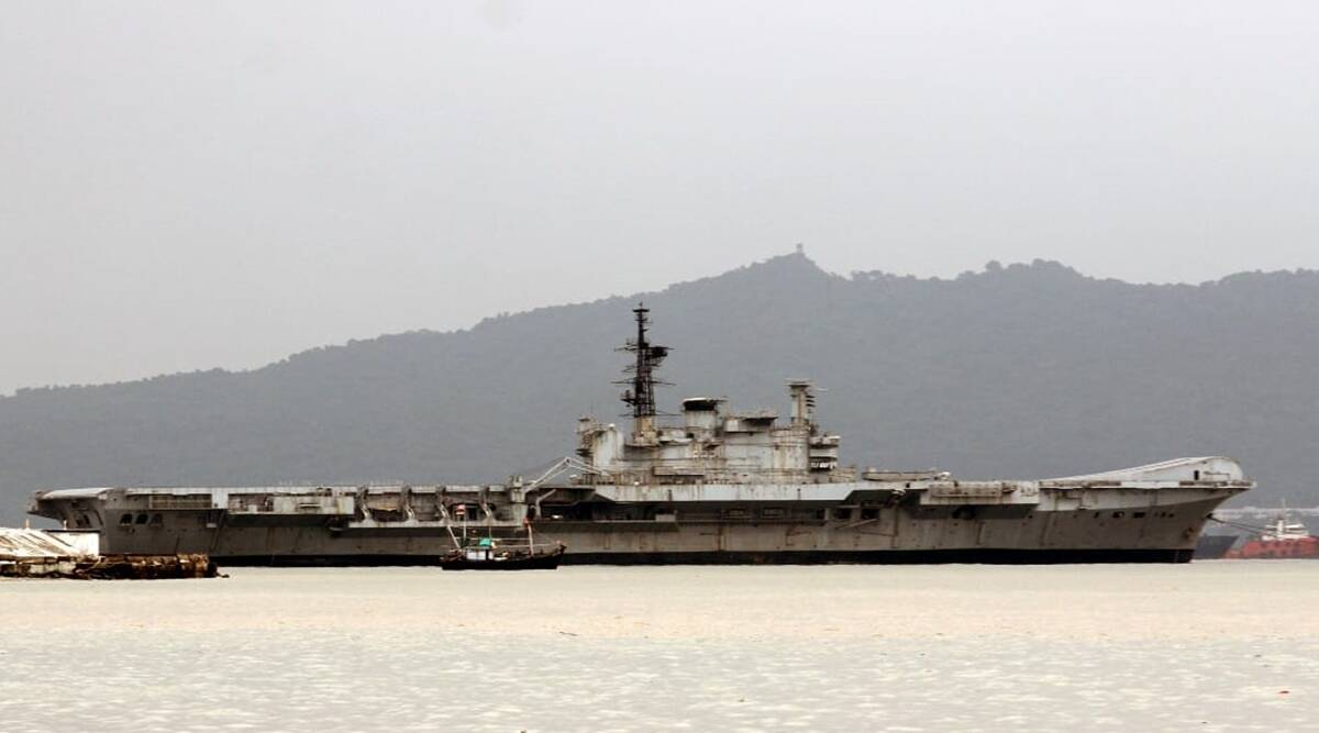 INS viraat final journey, INS Viraat, Viraat ship mumbai, Viraat ship gujarat, mumbai city news, gujarat news