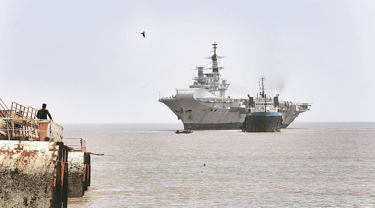 INS Viraat reaches final port, set for dismantling