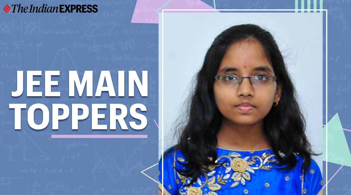 Girls should aim higher, says JEE Main 2020 female topper - The Indian Express