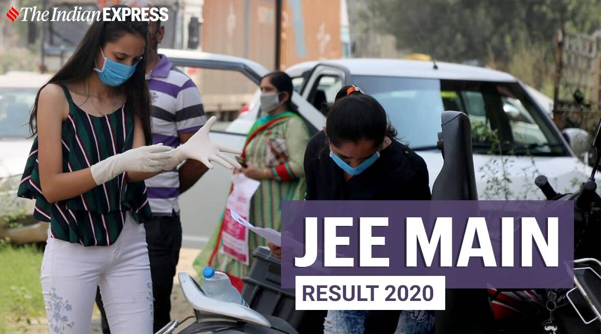 NTA JEE Main result 2020: How to download score card - The Indian Express