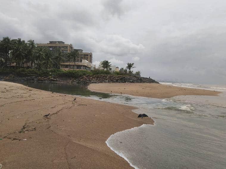 Mumbai: Amid coastal reclamation, 2,000 sq metre foreshore off Juhu beach goes under water