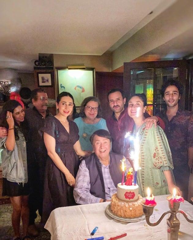kareena kapoor birthday celebration