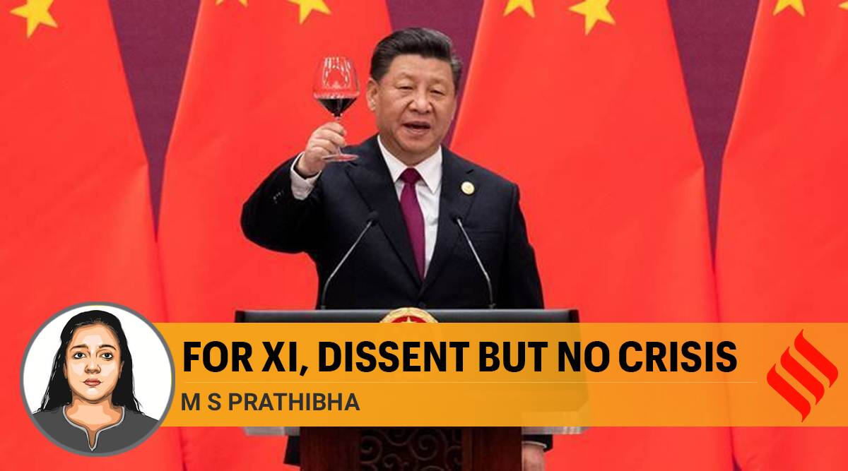 xi jinping, xi jinping china, communist party china, xi jinping rule, xi jinping govt, coronavirus, coronavirus china, indian express opinion