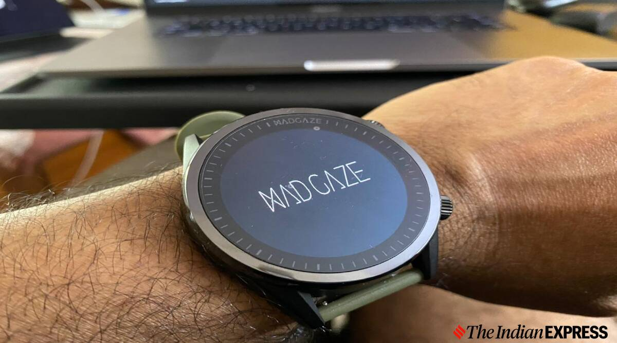 Watchout Wearables Madgaze Smartwatch Review Gesturing To Be Different Technology News The Indian Express