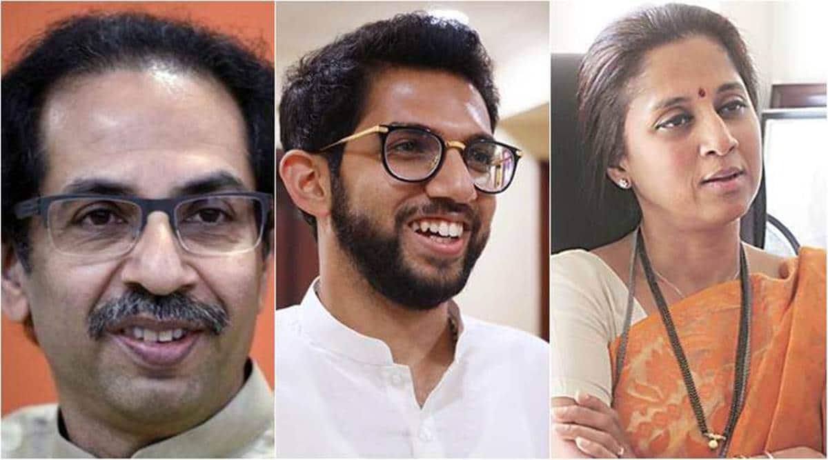 Uddhav Thackeray, Uddhav Thackeray fake affidavit ec, Aaditya Thackeray, aaditya thackeray taxes, supriya sule taxes, Supriya Sule, cbdt, indian express news