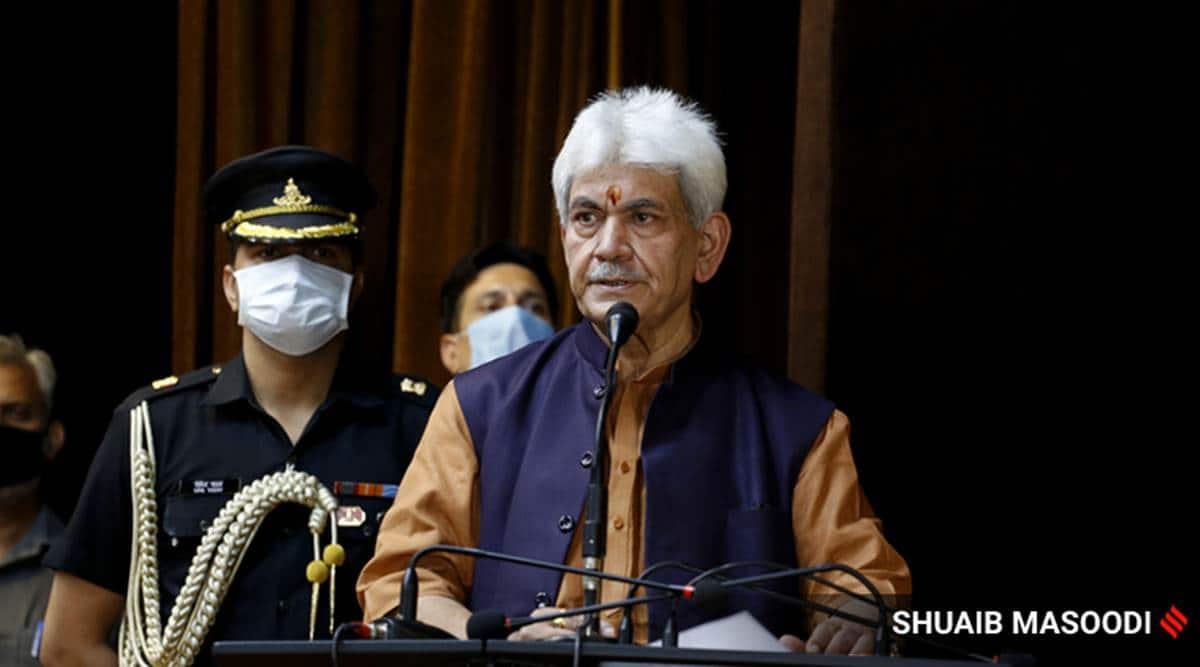 Development has changed narrative around J&K: Guv Manoj Sinha