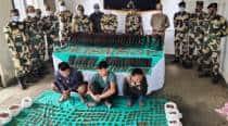 BSF recovers arms cache near Indo-Bangla border in Mizoram