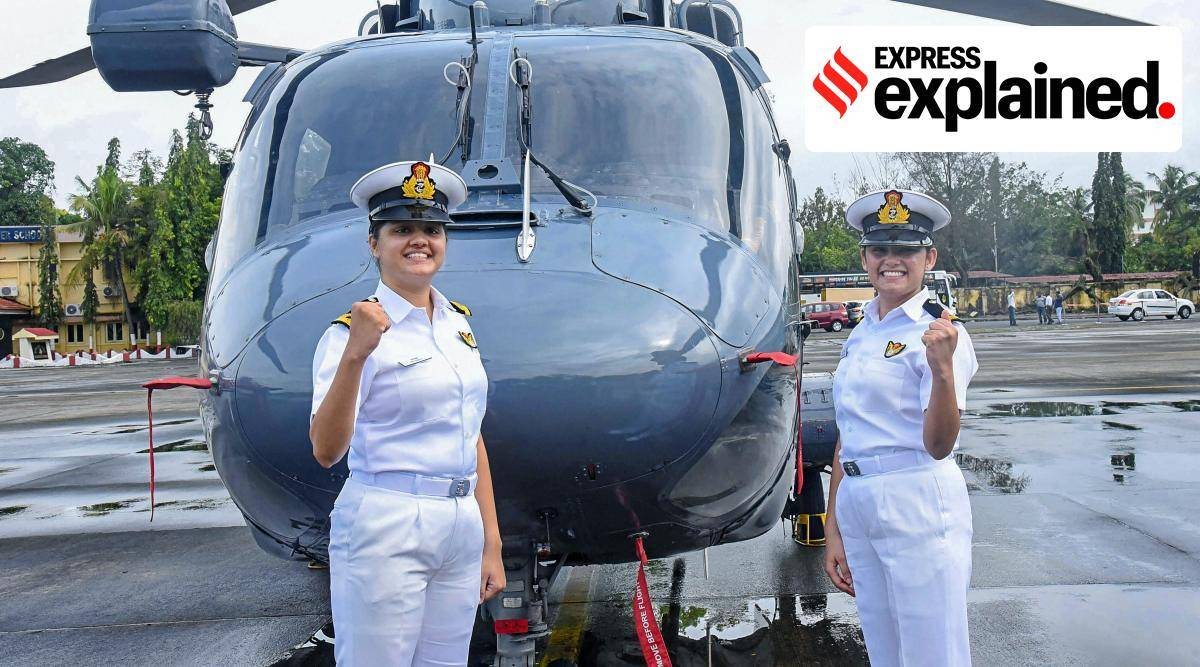 Women in Indian Navy, Role of women in Navy, Indian RAmy, women army, women airborne combatants, express explained, indian express