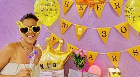 Nia sharma birthday photos