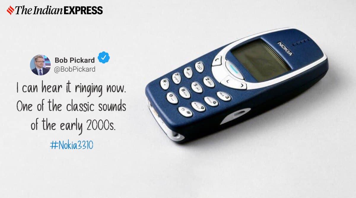 nokia 3310, nokia 3310 turns 20, nokia 3310 memes, nokia 3310 jokes, nokia 3310 20 memes, viral news, indian express