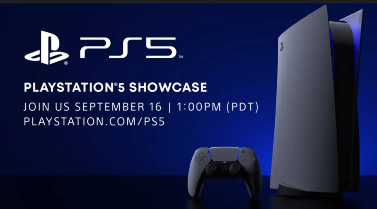 Sony announces PlayStation 5 showcase event for September 16 - The Indian Express
