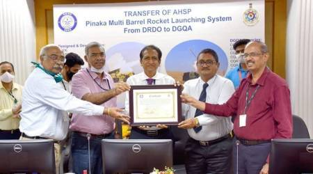 Pinaka rocket system, AHSP transfer, Indian armed forces, DRDO, Pune news, Indian express news