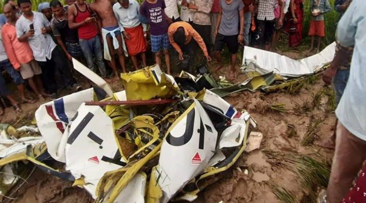 Four-seater aircraft crashes in UP, trainee pilot dead