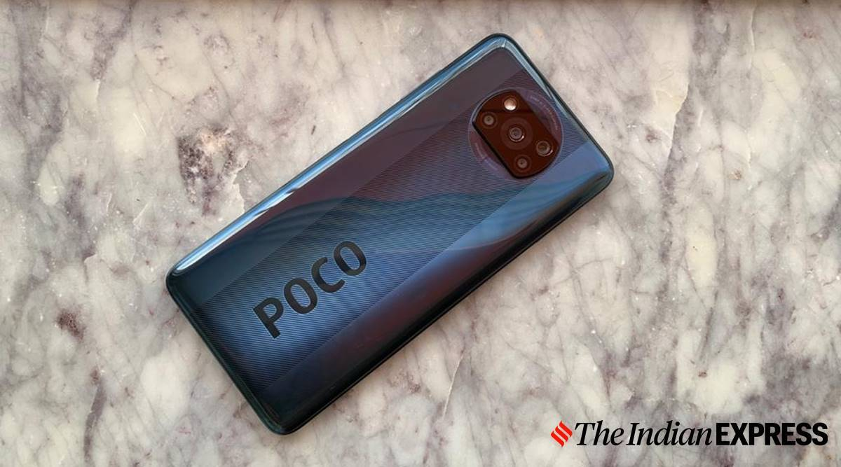 poco x3, poco x3 first look, poco x3 weight, poco x3 colours, poco x3 first impressions, poco x3 price india, poco x3 review