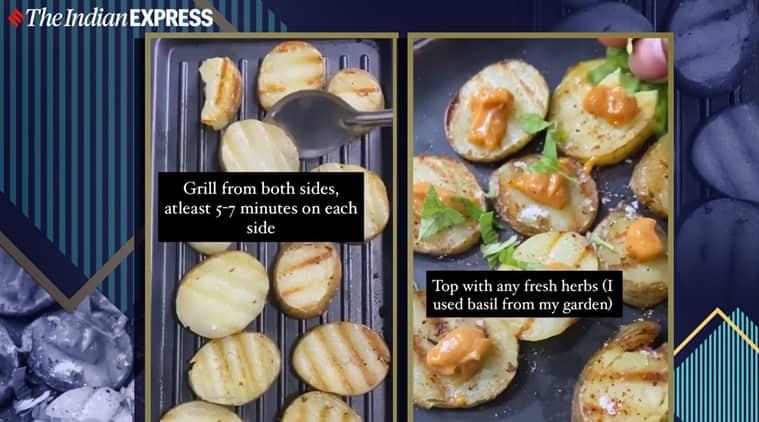 potato snack, homemade potato snacks, easy snack recipes, snack recipes, indianexpress.com, chef kirti bhotika, indianexpress,