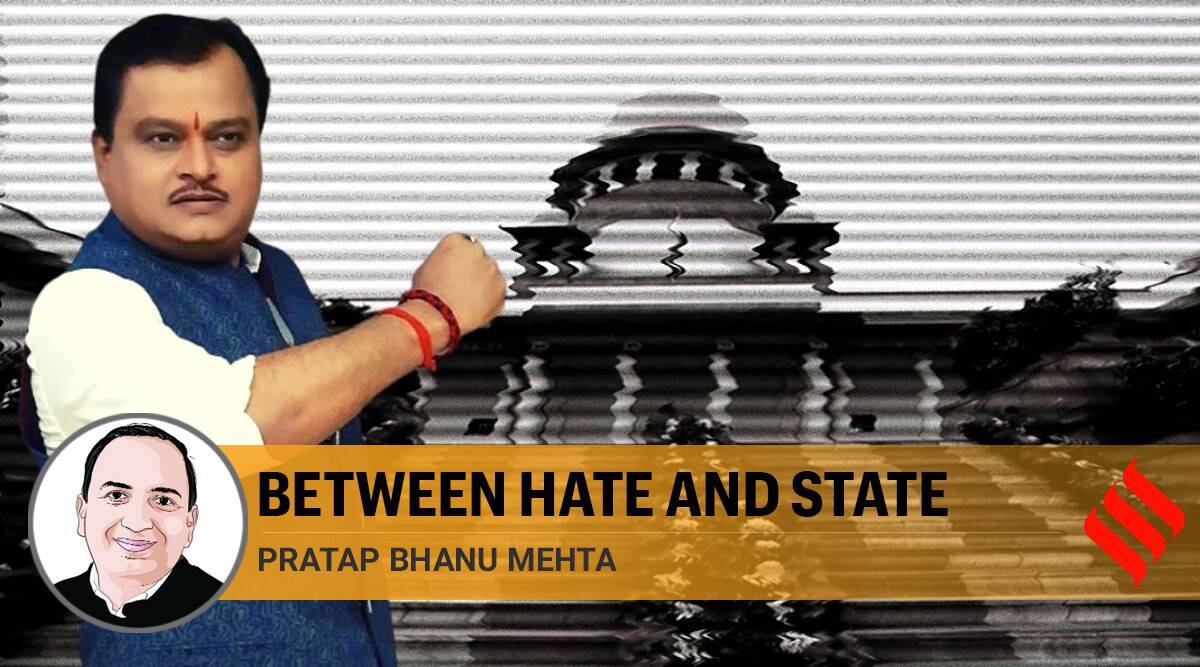 PB Mehta on Sudarshan TV case, Sudarshan TV, Supreme Court, SC on Sudarshan TV, free speech, hate speech, Bindas Bol, Indian Express
