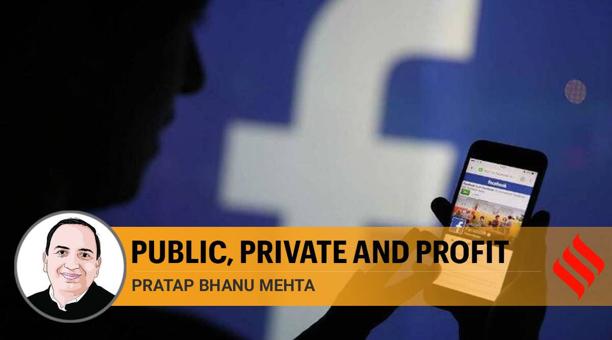 facebook, facebook hate speech, facebook fake news, complaints against facebook, censorship, freedom of speech, Comgress BJP facebook, P B mehta writes, indian express opinion