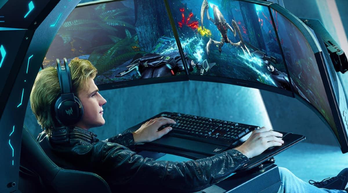 Acer, Predator Thronos, Predator Thronos gaming chair, Acer ConceptD laptops, Acer Predator series, Acer laptops in India, Acer Swift, Acer Harish Kohli