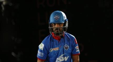 Ajinkya Rahane waiting for the 'second innings' with Delhi Capitals