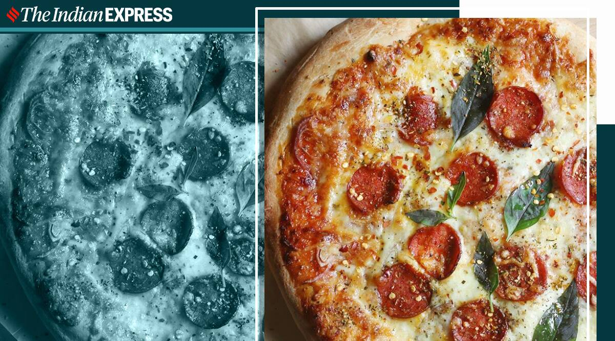 pizza recipe, easy pepperoni pizza, easy recipes, lapetite chef, pizza recipes, how to make pizza at home, indianexpress.com, indianexpress,