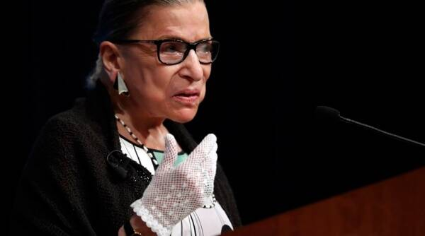 Justice Ruth Bader Ginsburg, RSB, SC judge appointment, how are US supreme court judges appointed, Ginsburg vacancy, donald trump, us elections, indian express