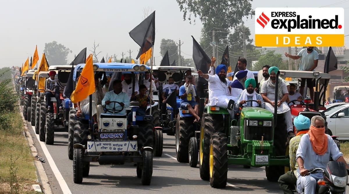 Farm Bills 2020, Farmers protest Harsimrat Kaur, Farmers Bill, SAD quits NDA, Shiromani Akali Dal, Sukhbir Singh Badal, Harsimrat resigns modi cabinet, Indian Express