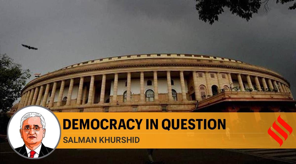 parliament question hour, democracy, india democracy, Parliament monsson session, Parliament opposition, Salman Khurshid writes, india covid cases, indian express opinion