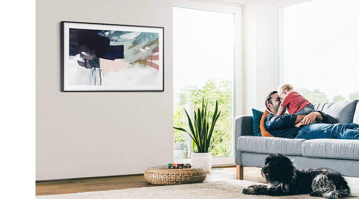 samsung frame review, samsung qled frame review, samsung frame features, samsung frame audio quality, samsung frame picture quality, samsung frame price india