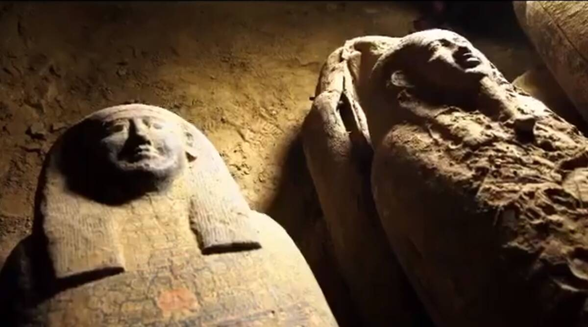 Egypt: 13 coffins with over 2500-year-old mummies inside discovered in Saqqara