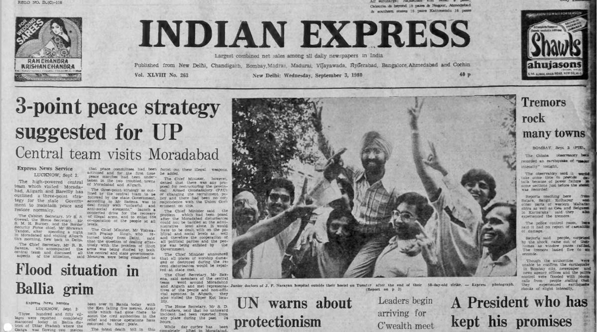 Forty Years Ago, September 3, 1980: Peace Strategy