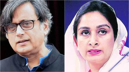 Shashi Tharoor continues as head of IT committee, Harsimrat member of external affairs panel