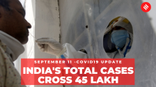 Coronavirus on September 11: India's total Covid-19 cases cross 45 lakh