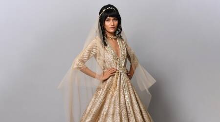 India Couture Week, gaurav gupta, suneet varma, indianexpress, digital version of ICW, fashion,
