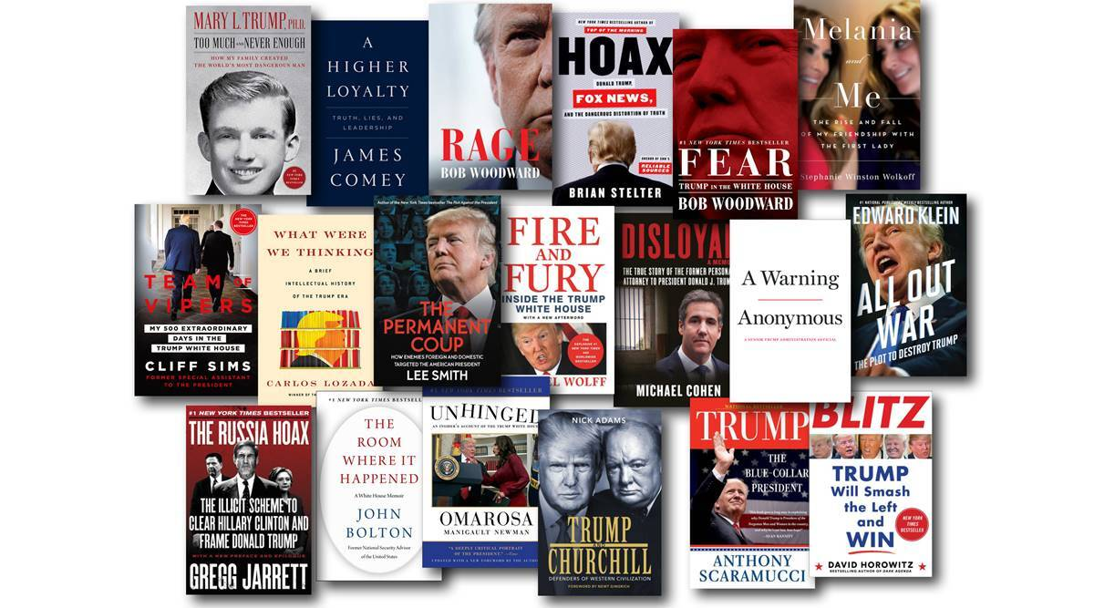 Trump book, Mary Trump, Book on Donald Trump, US elections 2020, world news, Indian express