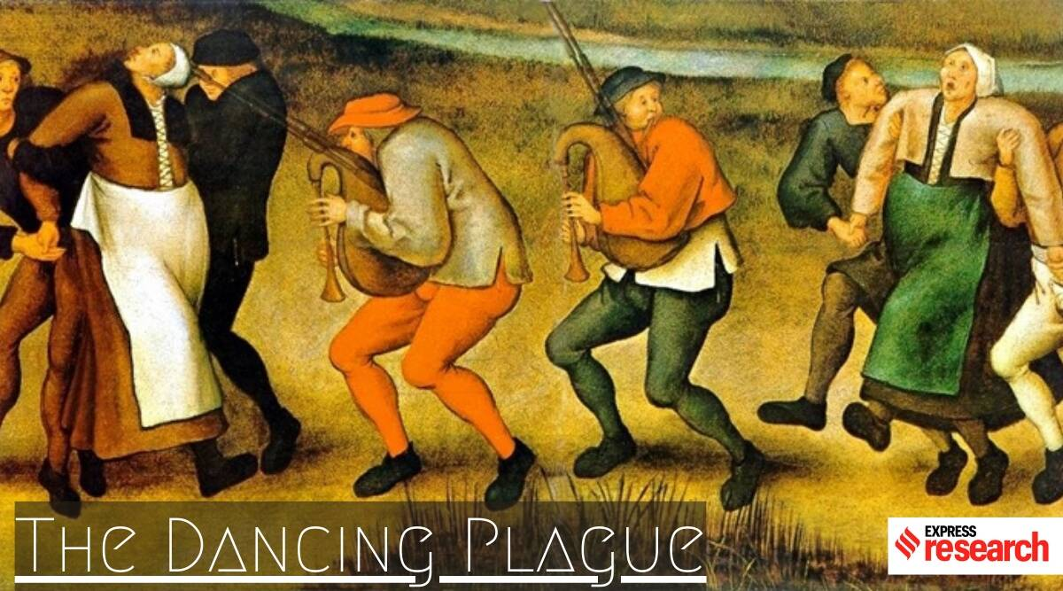 The dancing plague that struck many in medieval Europe