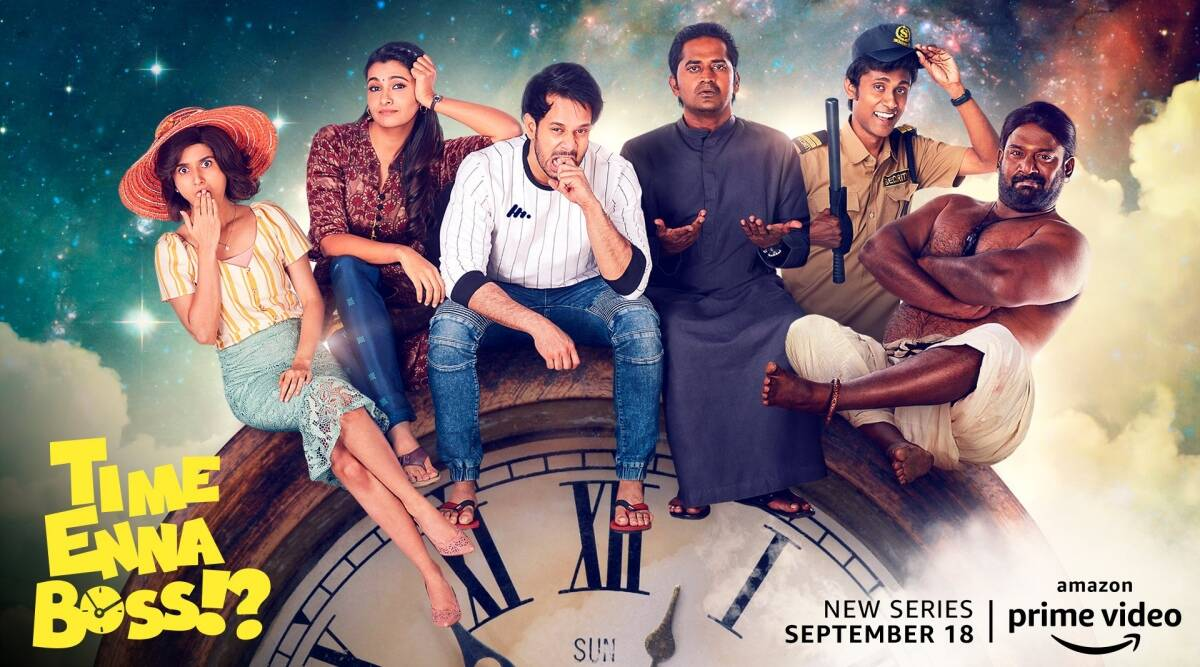 Time Enna Boss trailer: A fun Tamil series about time travel