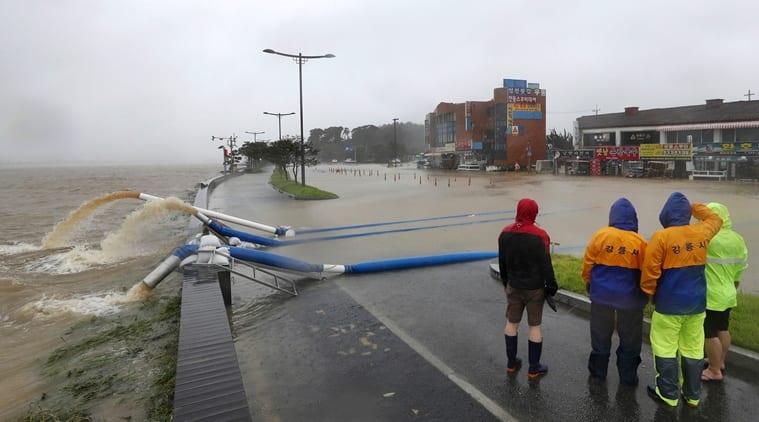 Typhoon Haishen lashes South Korea after battering Japanese islands