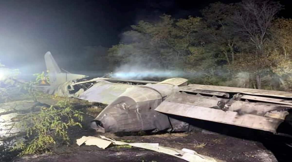 Ukraine Plane Crash, Plane Crash, Military Plane Crash, Kharkhiv