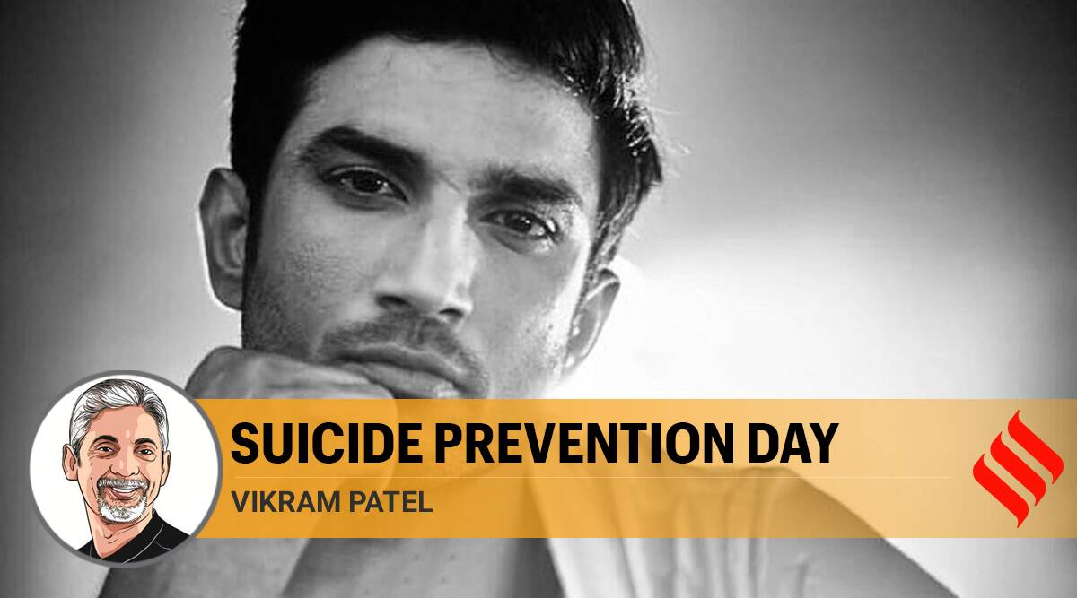 Sushant Singh Rajput death, Suicide cases in India, suicide prevention day, sushant singh rajput suicide case, media coverage on suicide cases, Indian express opinion