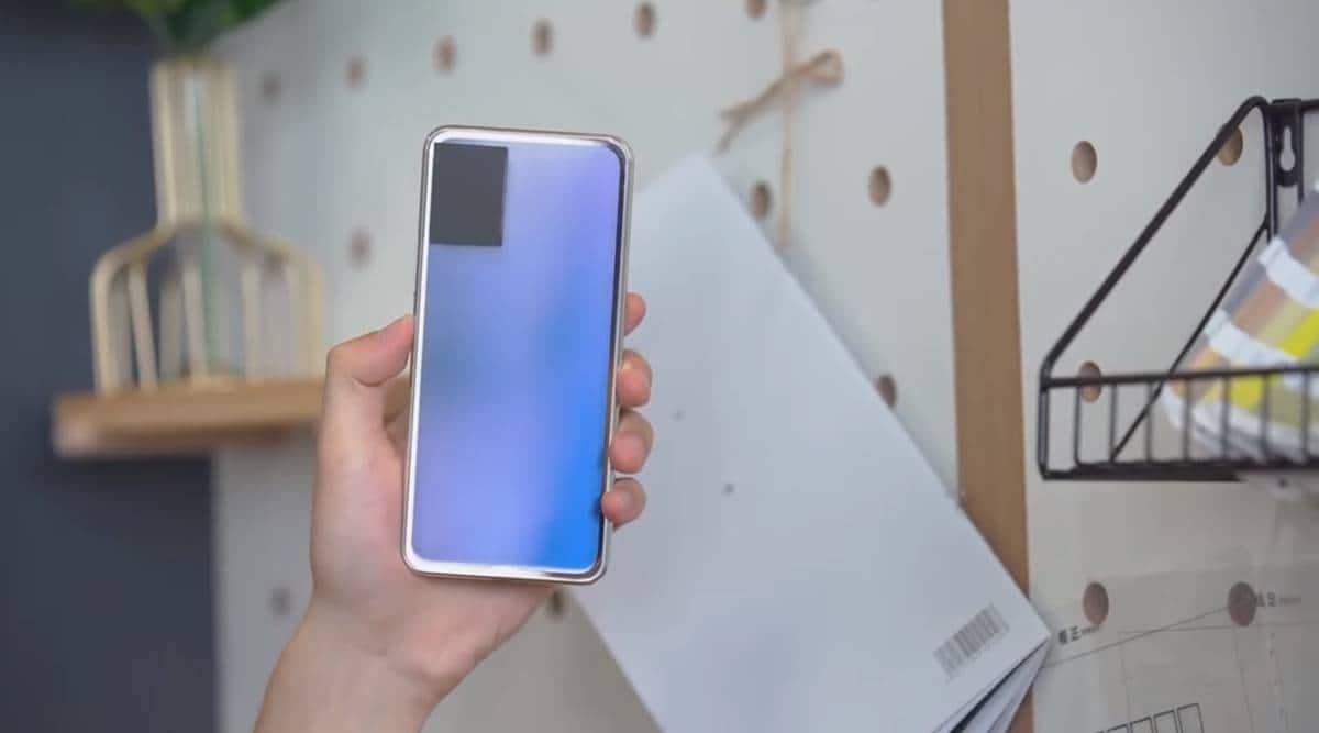 Vivo colour changing phone, vivo rear glass colour change, vivo colour change technology, vivo smartphone innovations, first colour changing phone, electrochromic glass