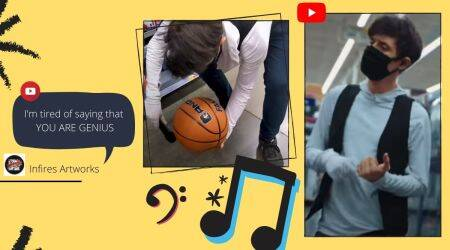 BTS, Dynamite, BTS song cover, Walmart, viral video, Dynamite cover, Trending news, Indian Express news.