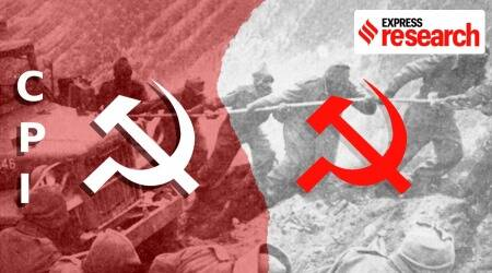 India China, India China news, India China war 1962, India China standoff, India China border, India China tension, Communist Party of India, CPI, CPI(M), India news, Indian Express