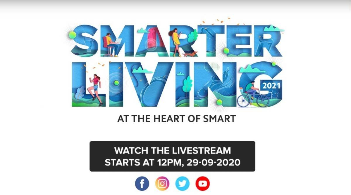 Xiaomi, Xiaomi Smarter Living 2021 event, Mi Smarter Living 2021, Mi Band 5, Mi Watch Revolve, Mi Smart AI speaker, Mi Band 5 launched in India, Mi Watch Revolve launched in India, Mi Smart AI speaker launched in India, Mi Band 5 price in India, Mi Watch Revolve price in India, Mi Smart AI speaker price in India, Mi Band 5 specifications, Mi Watch Revolve specifications, Mi Smart AI speaker specifications