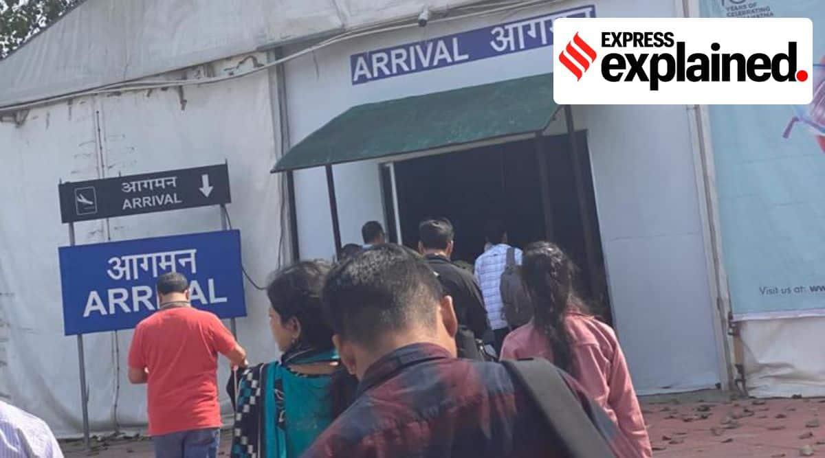 express explained, up elections, up cm yogi adityanath, Kushinagar International Airport, Sonebhadra Airport, Jewar International Airport, Ayodhya Airport, indian express